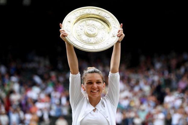 سیمونا هالپ، تنیسباز رومانیایی قهرمان ویمبلدون شد