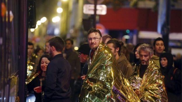 Париж, 14 ноября 2015 г.