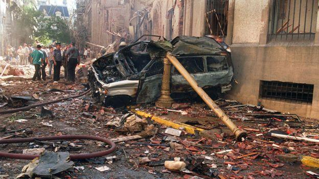 El ataque contra la Embajada de Israel en Buenos Aires, el 17 de marzo de 1992