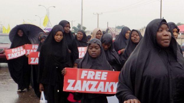 مسيرة للشيعة لإطلاق سراح إبراهيم زكزاكي