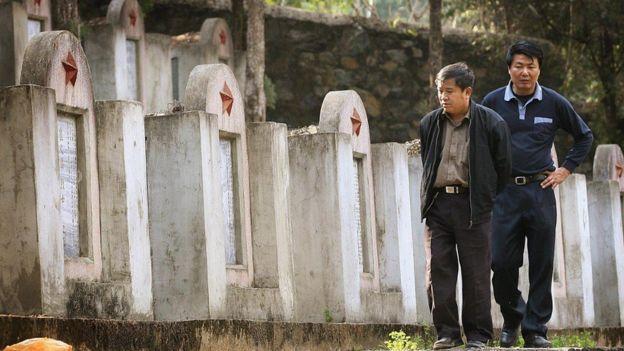 Nghĩa trang quân đội Trung Quốc sau cuộc chiến với Việt Nam 1979