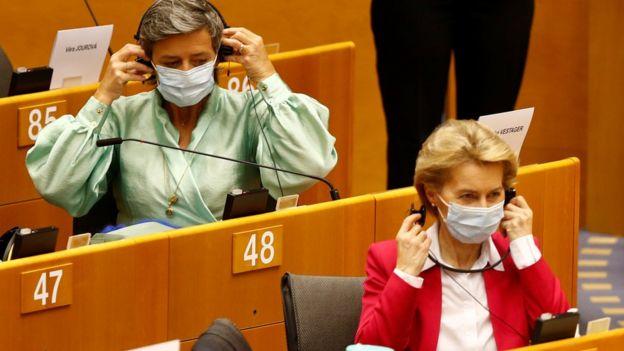 Урсула фон дер Ляйен в Европарламенте
