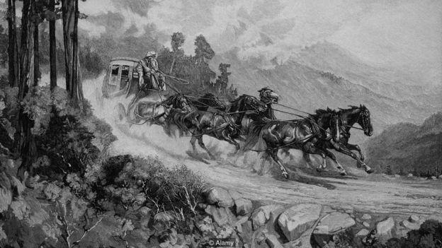 Eadweard Muybridge arabadan yıxılıb və bundan sonra həyatına yaradıcı dahi kimi davam edib