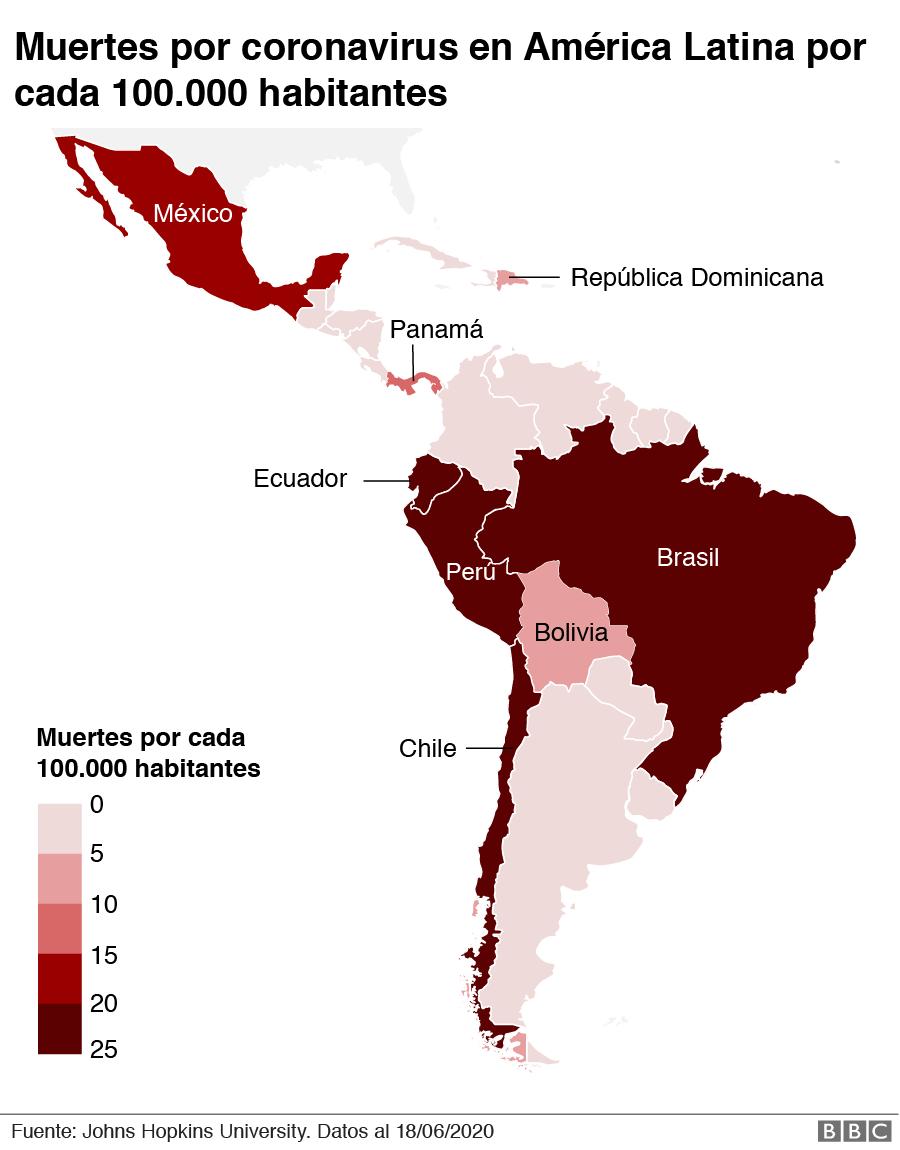 Mapa muertes por 100.000 habitantes