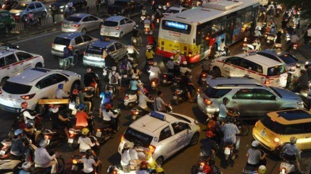 Hà Nội bị cảnh báo vì ô nhiễm không khí