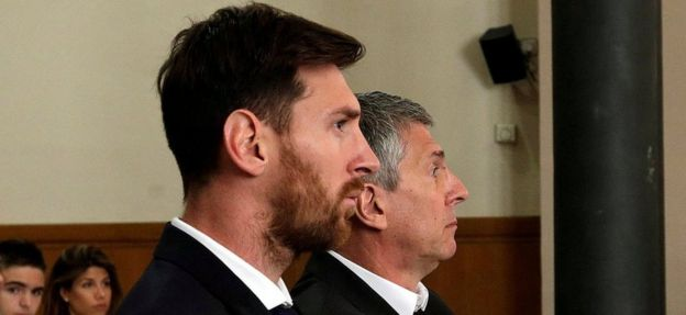 Messi y su padre fue hallados culpables, pero no tendrán que cumplir la pena en prisión.