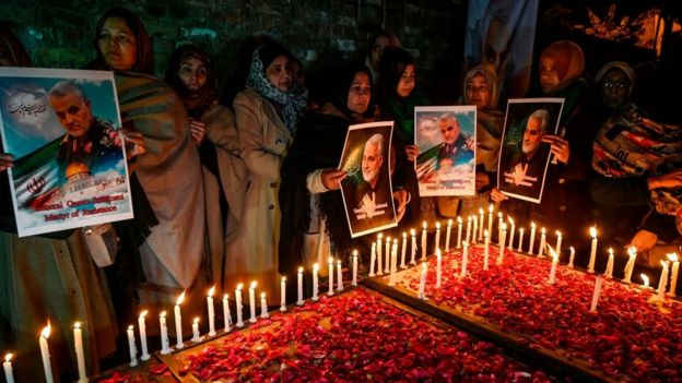 Funeral do general Qasem Soleimani