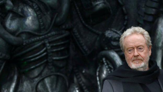 Ridley Scott, director de cine