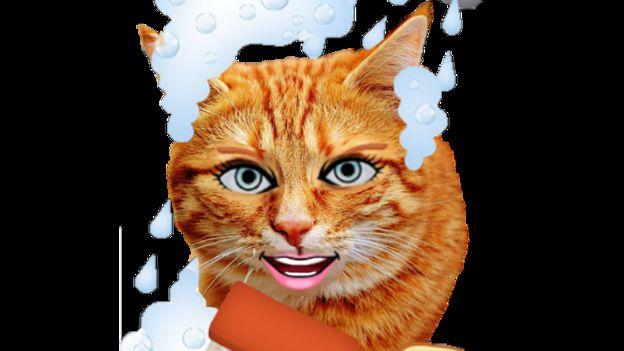 """La última moda: crear un """"animoji"""" de tu mascota. (Foto: Emojiface)."""