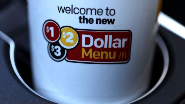 Oferta de McDonald's.
