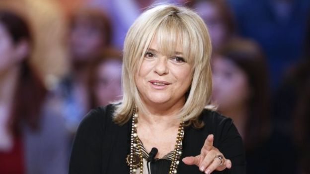 French singer France Gall pictured on 30 October 2012