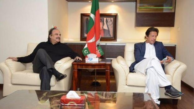 نعیم الحق اور عمران خان