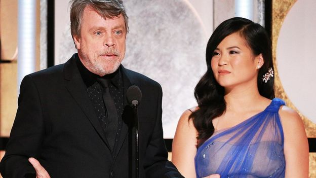 Mark Hamill and Kelly Marie Tran