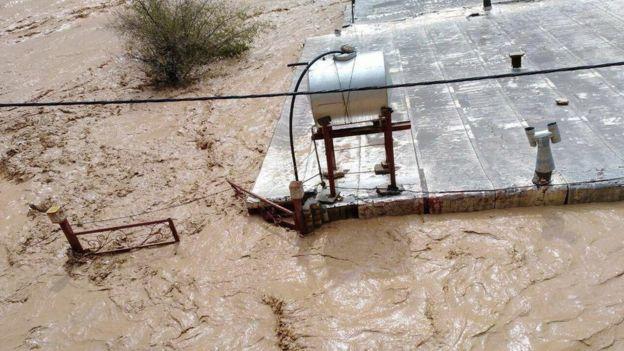 در معمولان سطح آب تا سقف خانهها بالا آمده است