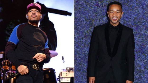Chance The Rapper and John Legend