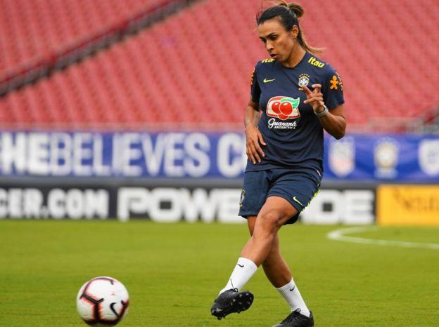 Marta jugadora brasileña