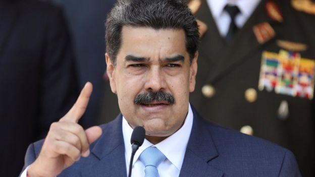 File photo of President Maduro