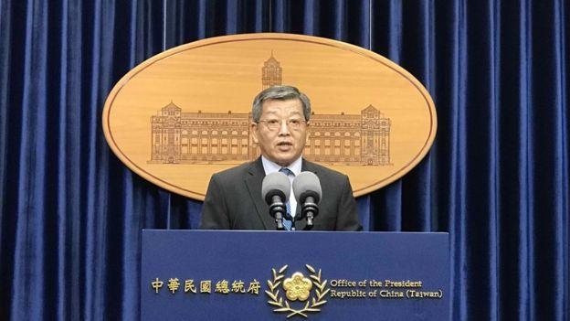 """台灣外交部政務次長謝武樵表示,兩岸天主教高層在梵蒂岡""""應該不會碰面""""。"""