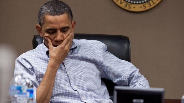 Barack Obama na Casa Branca