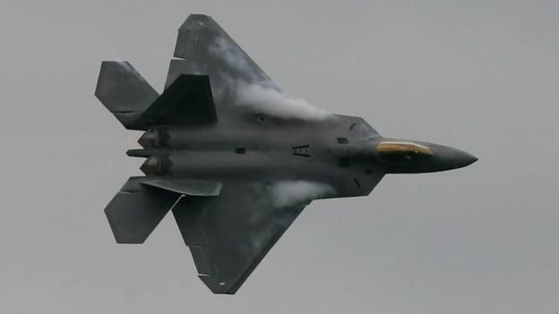 zhuhai air show china j 20 fighter jet in public debut bbc news