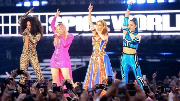 Concierto de Spice Girls