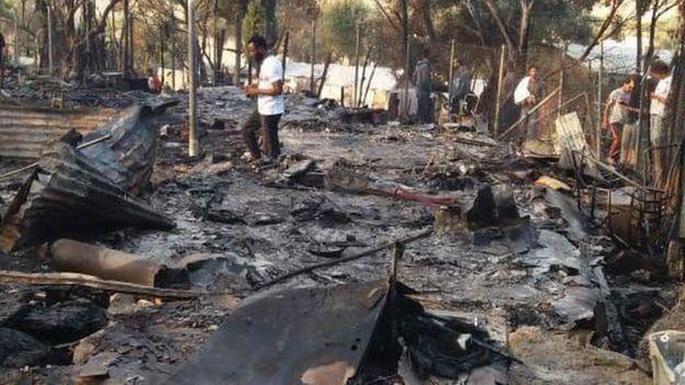 این عکس توسط شاهدان عینی برای بیبیسی فارسی ارسال شده