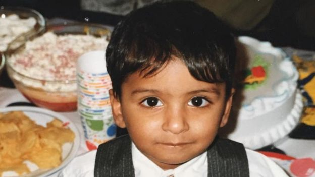 Sameer as a child