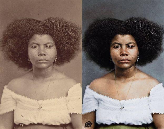 Retrato original diz apenas 'moça cafuza'