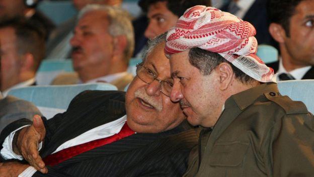 Celal Talabani ve Barzani
