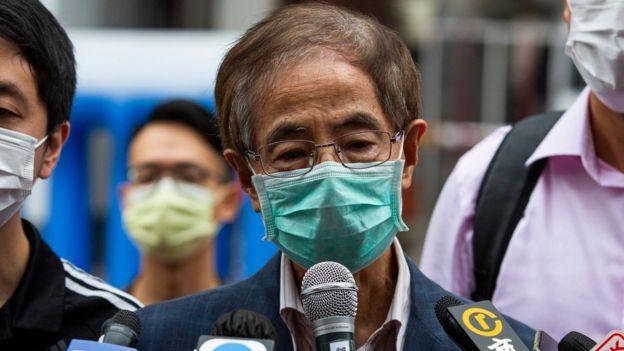 李柱铭被控2019年8月组织及参与未经批准集结。