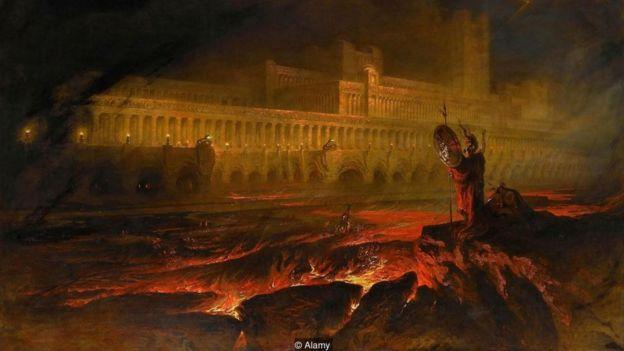 John Martin, Pandemonium, Kayıp Cennet