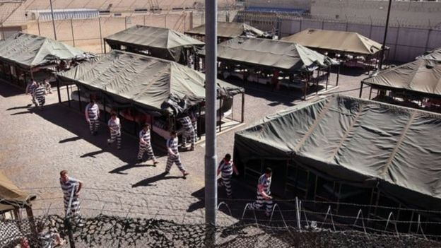 La cárcel de Tent City en Maricopa