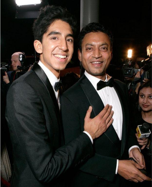 Irrfan Khan and Dev Patel