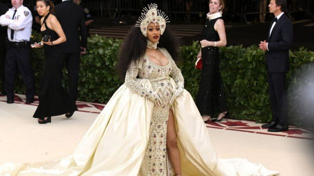 Cardi B was at the Met Gala earlier this month