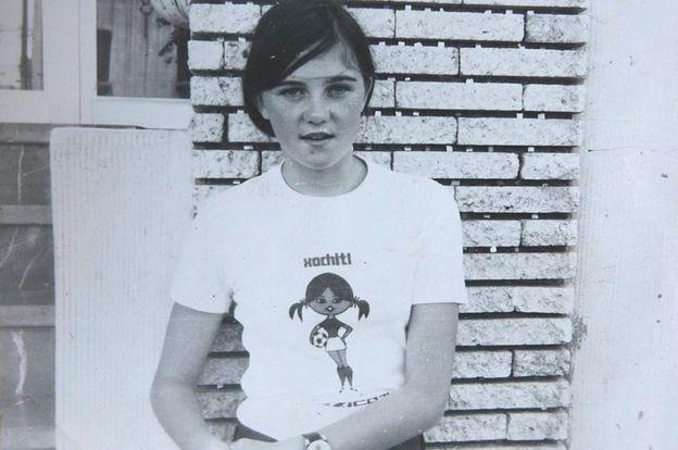 Leah Caleb in 1971