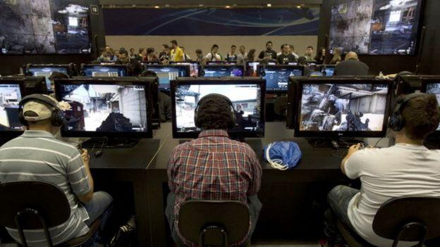 Videojuegos en red.