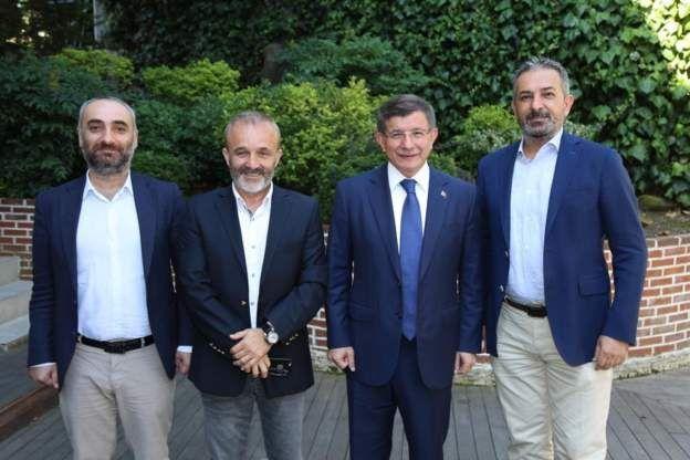 İsmail Saymaz, Yavuz Oğhan, Ahmet Davutoğlu, Akif Beki