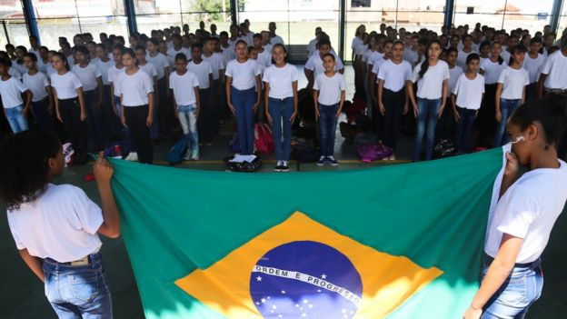 How Brazil's culture wars are being waged in classrooms - BBC News