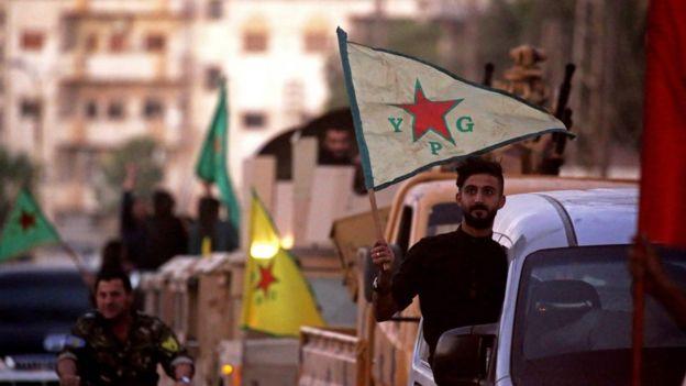 YPG gösterisi