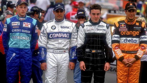 Su debut en la categoría se produjo en 2001 con Minardi, año en el que también comenzaron Kimi Raikkonen (Sauber), Juan Pablo Montoya (Williams) y Enrique Bernoldi (Arrows).