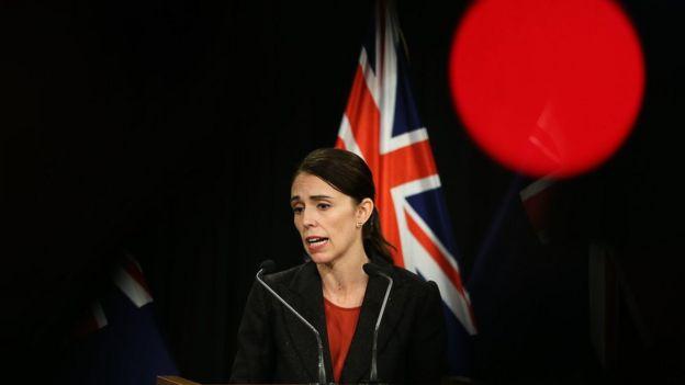 นางจาซินดา อาร์เดิร์น นายกรัฐมนตรีหญิงของนิวซีแลนด์
