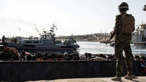 Des garde-côtes libyens tuent un 'migrant soudanais en fuite'