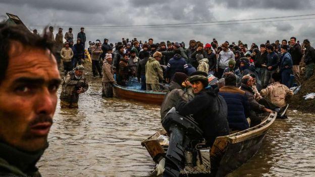 در گمیشان استان گرگان دو نفر بر اثر واژگونی یک قایق مفقود شدهاند