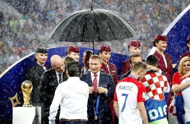 پوتین: از ۲۵ میلیون حمله سایبری مرتبط با جام جهانی جلوگیری کردیم