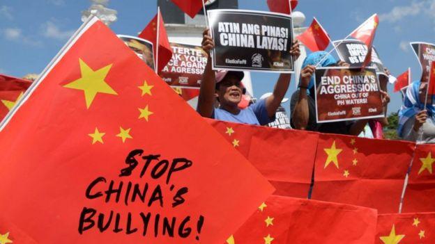 Protestas en Filipinas.