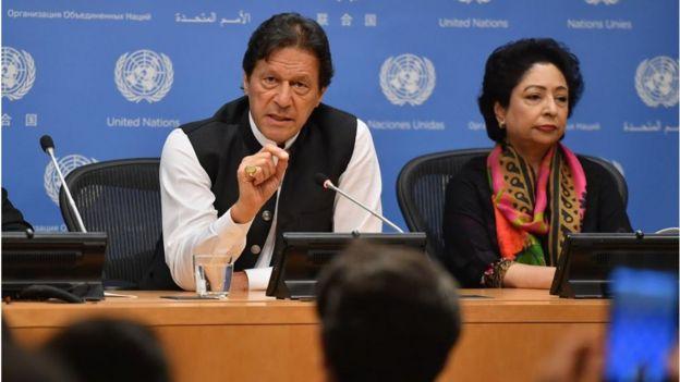 ملیحہ لودھی اور عمران خان