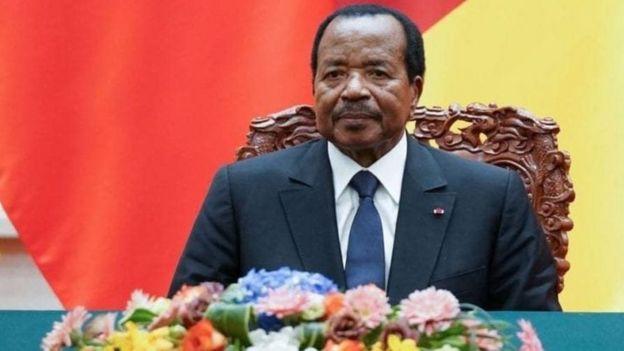 Madaxweynaha Cameroon Paul Biya