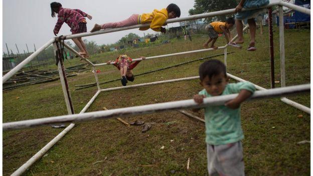 BBC转述缅甸儿童落后状况