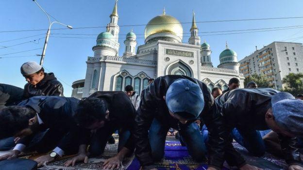 masjid di Moskow.