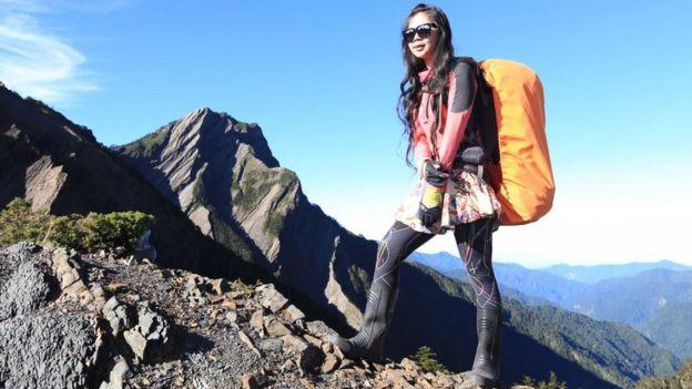 Гиги Ву в горах